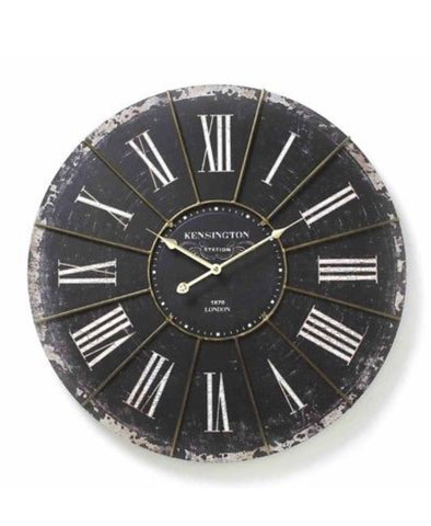 Very Large Vintage Wall Clock - LX Crafts Co