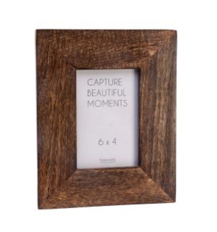 Burnished Wood 6x4 Photo Frame - LX Crafts Co