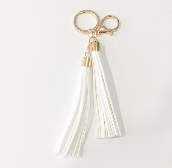 Double Tassel Keychain - LX Crafts Co