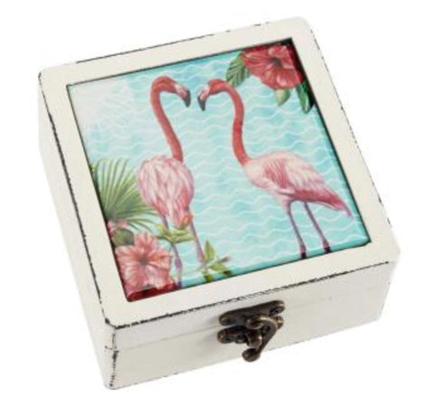 Flamingo Box - LX Crafts Co