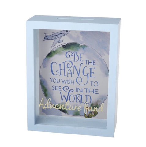 Change the World Money Box - LX Crafts Co
