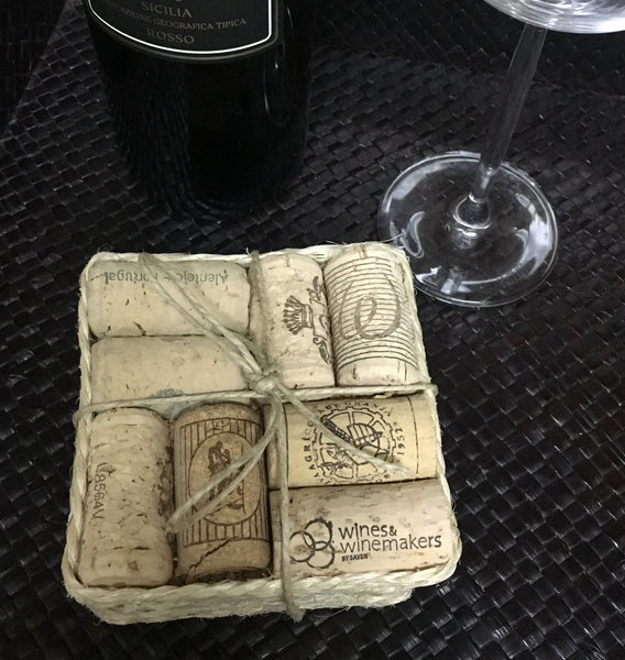 Wine Cork Coasters - LX Crafts Co