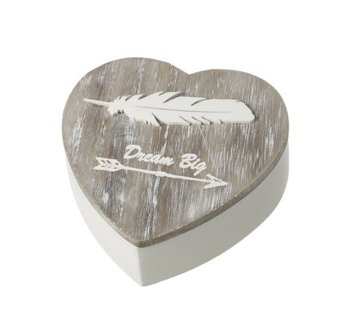 Wooden Dream Big Heart Box - LX Crafts Co