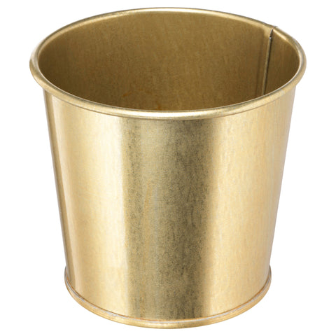 Gold Effect Mini Planters - LX Crafts Co