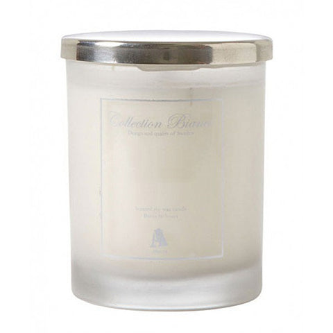 Bianco Cotton Flower Candle - LX Crafts Co