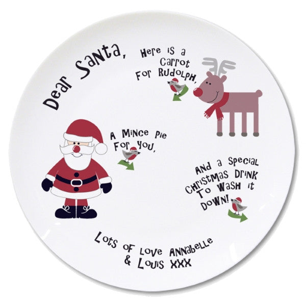 Personalised New Mince Pie Plate - Latest Trendz Novelty Gifts And Gadgets