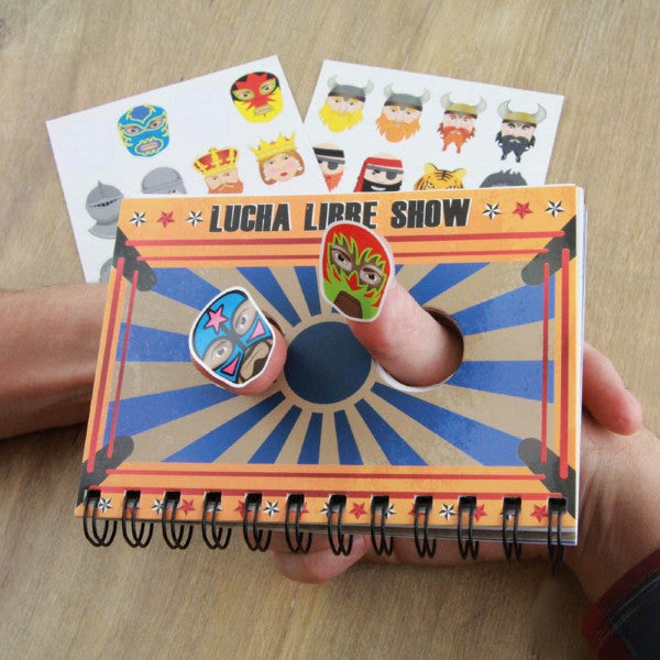 Thumb Wars Notebook and Sticker Set - Latest Trendz Novelty Gifts And Gadgets