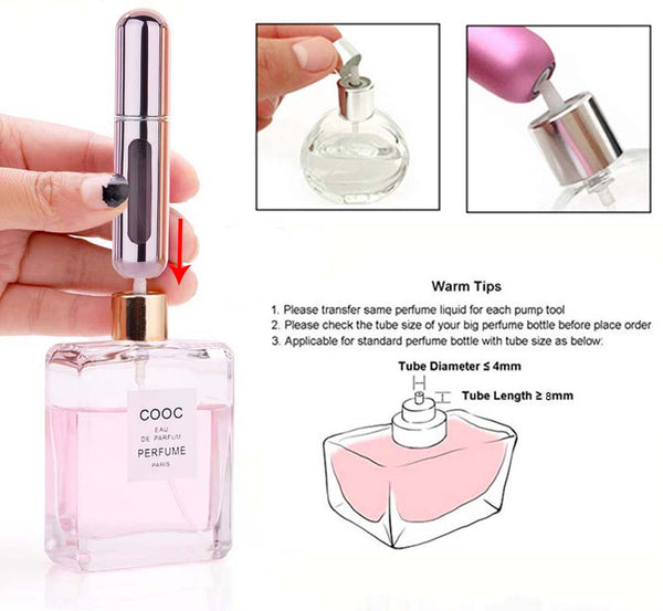 Portable Perfume Bottle