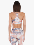 KORAL BRA SWEEPER - ROSE QUARTZ/CAMO