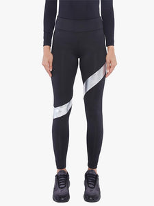 KORAL LEGGING Aello Scuba High Rise Legging Black/Platinum