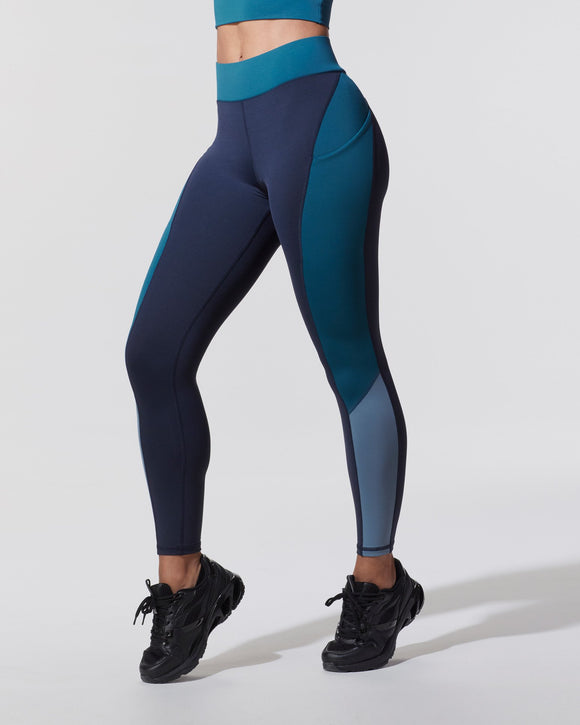 MICHI LEGGING ALBA POCKET DARK OCEAN