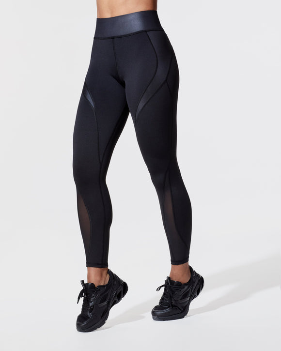 MICHI LEGGING FLARE BLACK