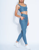 HEROINE LEGGING ALLURE  [ POWDER BLUE ]