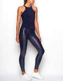 HEROINE LEGGING MARVEL [ SLICK NAVY ]