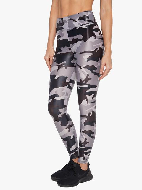 KORAL LEGGING LUSTROUS HIGH RISE LEAD CAMO
