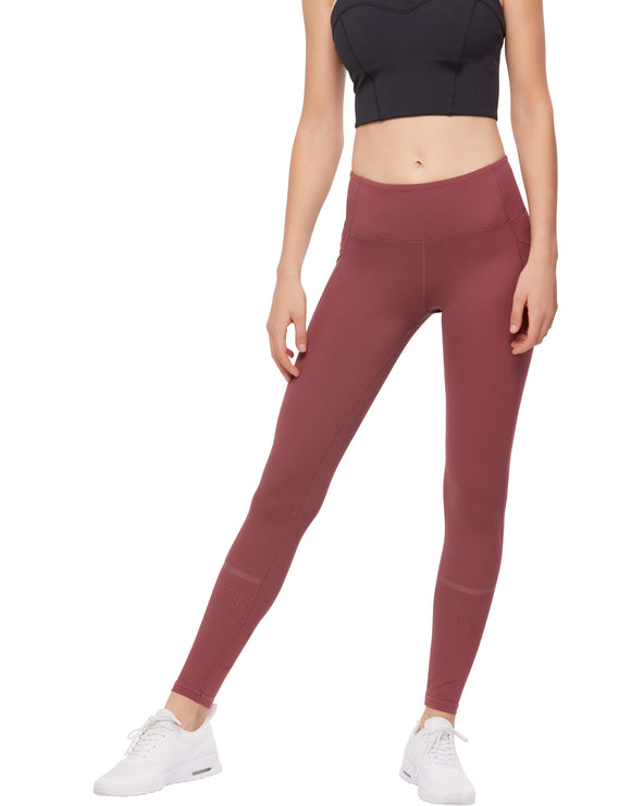 LILYBOD LEGGING ALEX - CRIMSON SCORCH