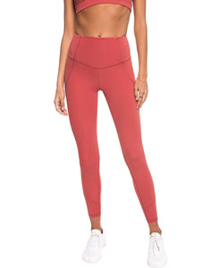 LILYBOD LEGGING WILLOW - MINERAL DUST
