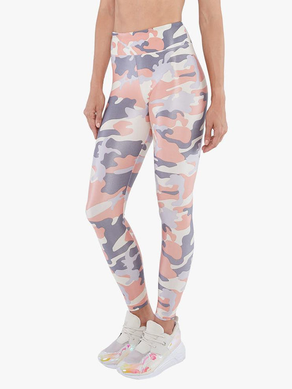 KORAL LEGGING LUSTROUS HIGH RISE - ROSE QUARTZ/ CAMO