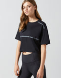 LILYBOD TOP YVETTE - GRAPHITE BLACK