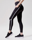 MICHI LEGGING LINEAR BLACK / WHITE