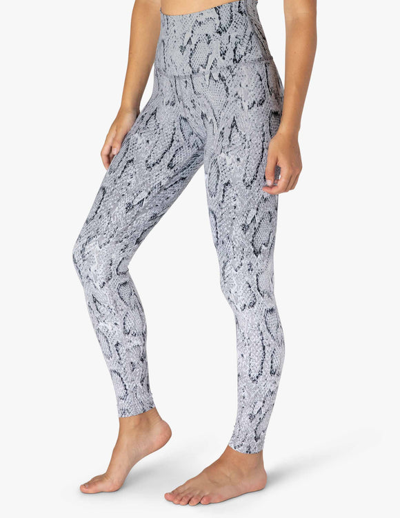BEYOND YOGA Legging Olympus Ombre Snake High Waisted Midi - Stone Gray Ombre Snake