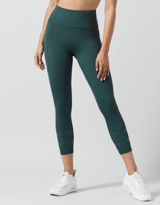 LILYBOD LEGGING LOLAH - SMOKE GREEN