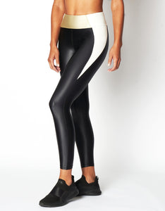 HEROINE LEGGING RACER [ IVORY / BRUSHED GOLD ]