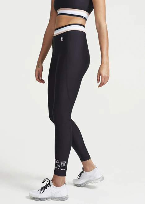 PE NATION LEGGING Strike Run Legging in Black