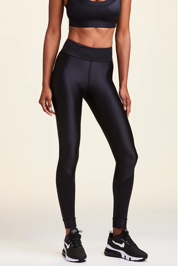 ALALA LEGGING RAYA RIB TIGHT - BLACK