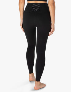 BEYOND YOGA Legging Supplex On The Strap High Waisted Midi - Jet Black