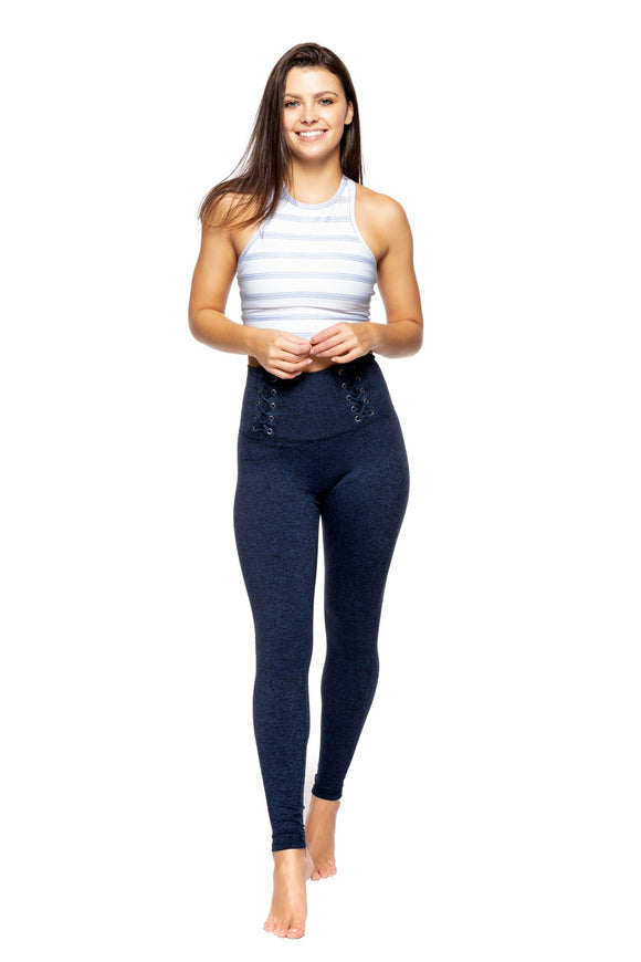 STRUT THIS LEGGING MAX ANKLE- NAVY HEATHER