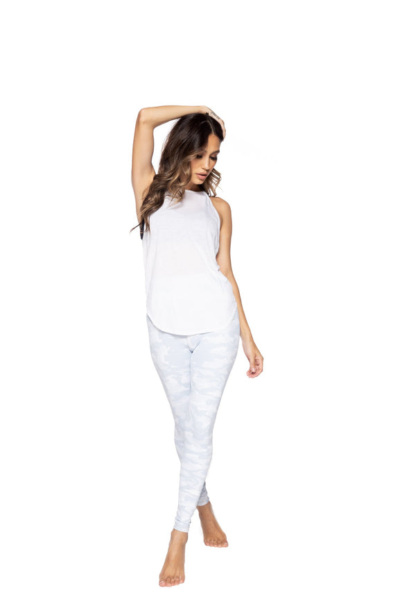 STRUT THIS LEGGING TEAGAN ANKLE- WHITE CAMO