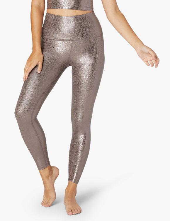 BEYOND YOGA Legging Viper High Waisted Midi - Mocha Viper