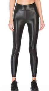 KORAL LEGGING LUSTROUS HIGH RISE BLACK