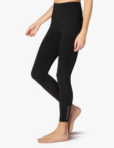 BEYOND YOGA Legging Zip By Boulevard High Waisted Midi