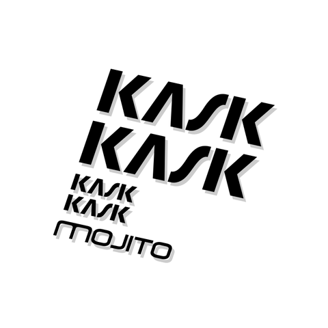 Kask Mojito Helmet Decal Kit