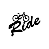Ride MTB Bumper Sticker