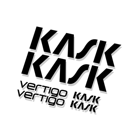 Kask Vertigo Helmet Decal Kit