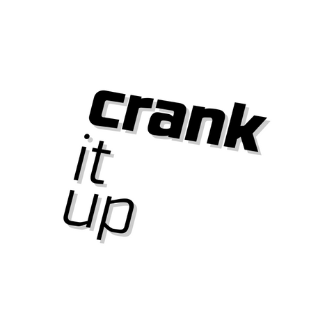 Crank it up Kickr Sticker