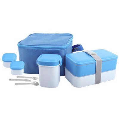17PC Insulated Lunch Box Set