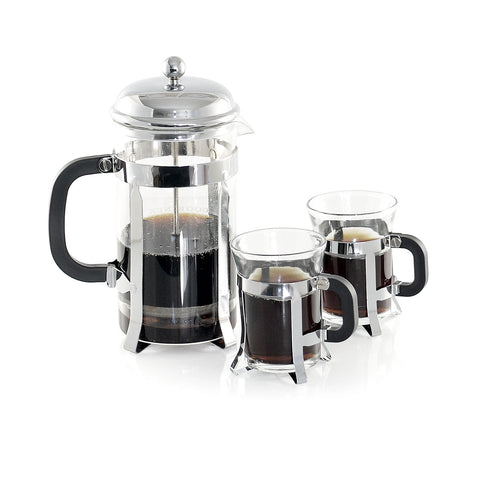 French Press Set for Coffee and Tea