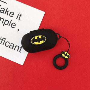 Batman Silicone Cover for  Galaxy Buds/Buds+ Plus with finger ring