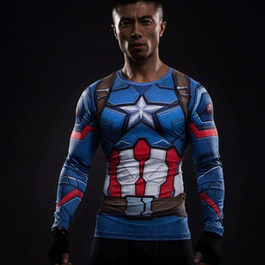 Captain America Vibranium Shield Spandex