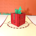 Handmade 3D Pop-up Diamond Ring in a Box Greeting Card - Heropantee