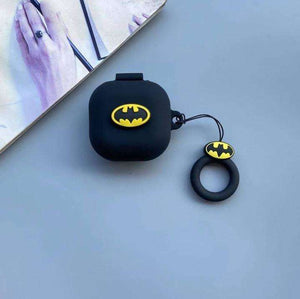 Batman Protective Silicone Case Cover for Galaxy Buds Live (Cover Only)