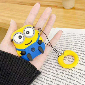 Minion Bob Silicone Cover For Apple Airpods(Cover Only)