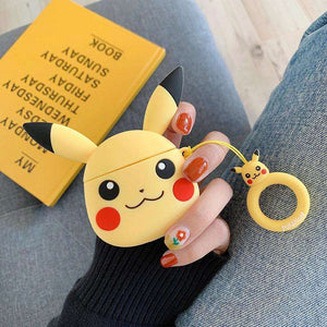 Pikachu Silicone Cover For Apple Airpods(Cover Only)