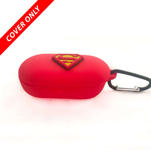 OnePlus Bud Z Superman Red Protective Silicone Case Cover