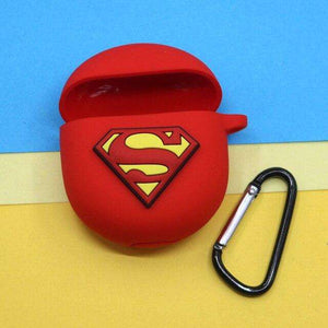 Superman Red Protective Silicone Cover for OnePlus Buds (Cover Only)