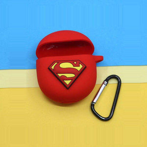 Vivo TWS NEO Superman Red Protective Silicone Case Cover (Cover Only)
